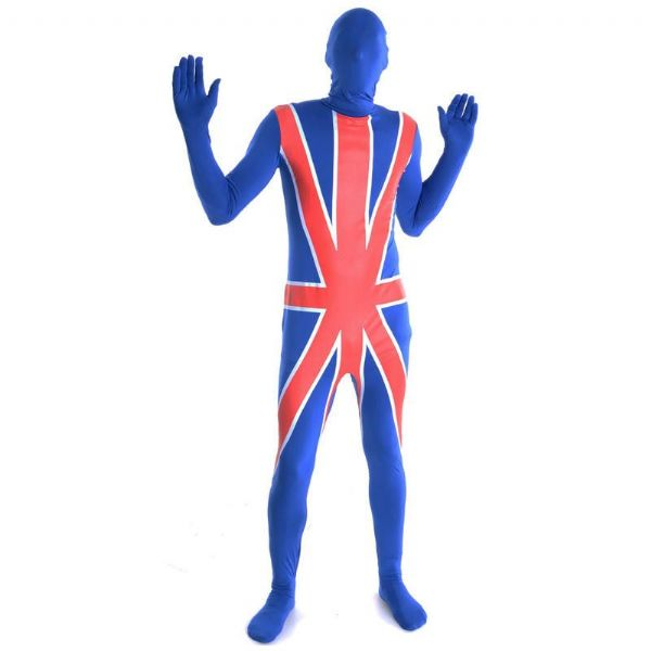 Adult Unisex G.B Skinz Costume for Body Skin Suit Fancy Dress Mens or Ladies